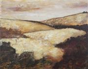 Sale 8771 - Lot 2041 - Shelley Burnham - Untitled (Landscape) 84.5 x 124cm
