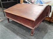 Sale 8822 - Lot 1131 - Converted Lift Top Desk Raised On Legs