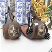 Sale 8362 - Lot 31 - Metal Stirrups