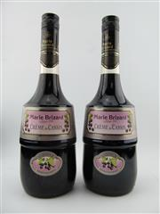 Sale 8398A - Lot 893 - 2x Marie Brizzard Creme de Cassis Liqueur, France
