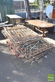 Sale 8390 - Lot 1345 - Assortment of Wrought Iron Pieces