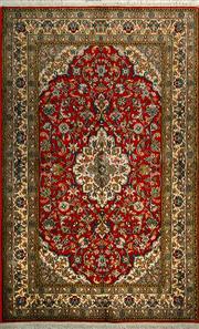 Sale 8439C - Lot 91 - Kashmiri Silk 160cm x 100cm
