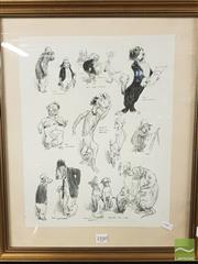 Sale 8449 - Lot 2100 - Norman Lindsay Dog Prints