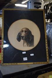 Sale 8569 - Lot 2098 - Dog Print
