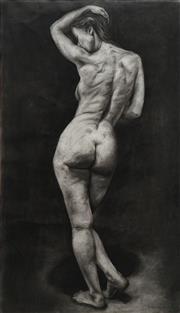 Sale 8665 - Lot 586 - D Luccio (1967 - ) - Nude 113 x 64cm