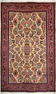 Sale 8321C - Lot 87 - Persian Qum 210cm x 130cm RRP $1600