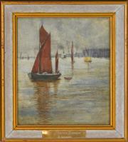 Sale 8323A - Lot 22 - Frank Godart (XIX) (14 works) - Landscapes; River Scenes various sizes, unframed