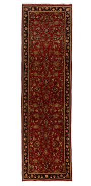Sale 8770C - Lot 107 - A Persian Kashan From Isfahan Region 100% Wool Pile On Cotton Foundation, 345 x 100cm