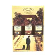 Sale 8830W - Lot 37 - 1x Hellyers Road Distillery Single Malt Tasmanian Whisky - 46.2% ABV, 3x 250ml bottles in gift box (1x 10YO Original, 1x Pinot Noir...