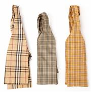 Sale 9080F - Lot 19 - THREE BURBERRY BOW TIES; in various chequered patterns