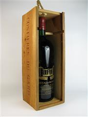 Sale 8335W - Lot 626 - 1x 1986 Chateau de Montcalm, Costieres du Gard - 1500ml magnum in timber box