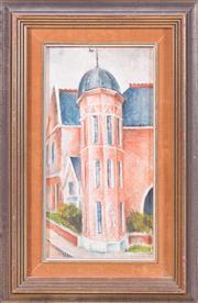 Sale 8341A - Lot 91 - Sali Herman - The Tower, 1941 32 x 16cm