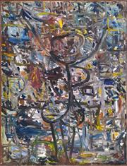 Sale 8394 - Lot 602 - Artist Unknown (XX) - Abstract 121.5 x 91.5cm