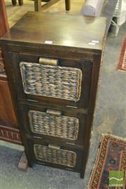 Sale 8390 - Lot 1489 - 3 Door Cabinet