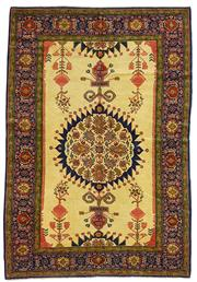 Sale 8536A - Lot 51 - A Vintage Senneh Persian Wool & Silk, 1960 Iran 195cm x 136cm RRP $8,500.00