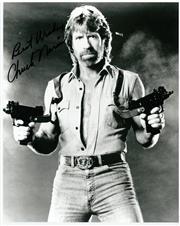 Sale 8555A - Lot 5039 - Chuck Norris