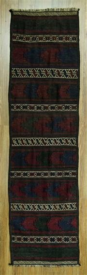 Sale 8601C - Lot 3 - Turkish Killem Runner 274x72