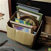 Sale 8640 - Lot 2075 - Box of Artworks incl Birgitta Horst - Thredbo River, SLR