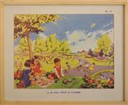 Sale 8734A - Lot 14 - Vintage Childrens Book Illustrations, c1930s (3 works)