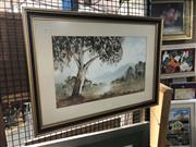 Sale 8833 - Lot 2096 - Nev Graham - Year of The Tree, watercolour, SLR