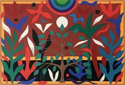 Sale 9091A - Lot 5009 - John Coburn (1925 - 2006) - Paradise Green, 1988 55.5 x 75 cm