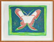 Sale 8347A - Lot 16 - Charles Blackman (1928 - ) - Alices Feet, 2004 64 x 51cm