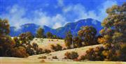 Sale 8323A - Lot 30 - Michael John Taylor (1939 - ) - Grazing the South Field 59.5 x 116cm