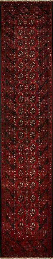 Sale 8431C - Lot 57 - Afghan Turkamn 380cm x 80cm