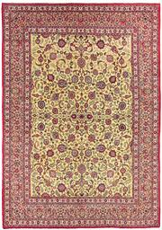Sale 8536A - Lot 52 - A Persian Wool & Silk Isphahan Carpet Iran 390cm x 272cm RRP $6,500.00