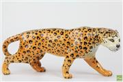 Sale 8578 - Lot 32 - Beswick Figure of A Leopard ( H 12cm x L 31cm)