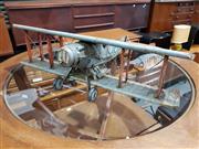 Sale 8705 - Lot 1072 - Vintage Boyle Tin Plane