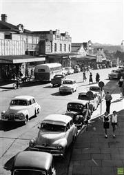 Sale 8721A - Lot 70 - Artist Unknown - Main Street, Lithgow NSW 1957 29 x 20cm