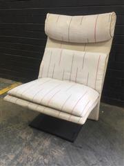 Sale 9022 - Lot 1066 - Saporetti Lounge Chair of Italy (h:100 x w:70cm)