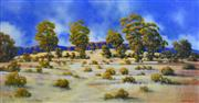 Sale 8323A - Lot 31 - Michael John Taylor (1939 - ) - Afternoon Light 59.5 x 116cm