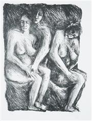Sale 8552 - Lot 2045 - Sandra Guy - Nudes I, 1987 45 x 35cm