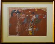 Sale 9080J - Lot 24 - Louis James - Abstract 51x61cm