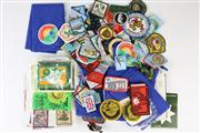 Sale 8436 - Lot 3 - Australian Patches with Various Vintage Boy Scout Patches