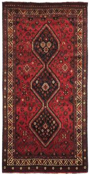 Sale 8536A - Lot 54 - A Southern Persian Wool Qashgai Carpet Iran 162cm x 104cm RRP $1,405.00