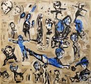 Sale 8642 - Lot 522 - Carlos Barrios (1966 - ) - Untitled, 2008 170.5 x 185cm
