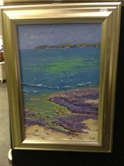 Sale 8663 - Lot 2033 - Laurence Hogan - The Waders, oil painting, 45 x 29cm, signed lower left