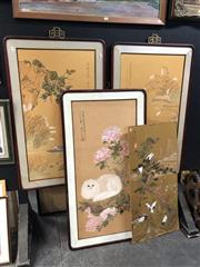 Sale 8861 - Lot 2088 - A group of four Chinese watercolours