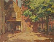 Sale 8929 - Lot 599 - Artist Unknown (C20th) - European Town Scene 38.5 x 49 cm