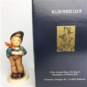 Sale 8456B - Lot 66 - Hummel Figure of a Boy with Bowl (Original Box)