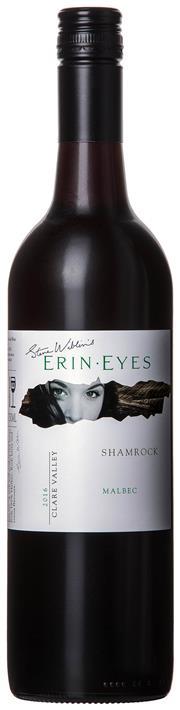 Sale 8494W - Lot 85 - 12 x 2016 Steve Wiblin's Erin Eyes 'Shamrock' Malbec – New Release, Clare Valley