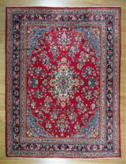 Sale 8643C - Lot 8 - Persian Husinabad 365cm x 275cm