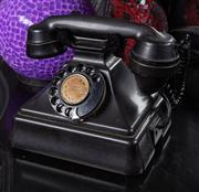 Sale 8761A - Lot 44 - A vintage style bakelite telephone W x 20cm