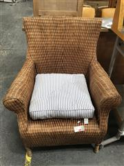 Sale 8817 - Lot 1077 - Oversized Wicker Armchair