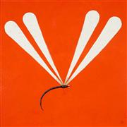 Sale 8959A - Lot 5026 - Kym Hart (1965 - ) - Dragonfly 89 x 89 cm (frame: 107 x 107 x 4 cm)