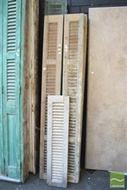 Sale 8390 - Lot 1382 - Collection of Timber Shutters