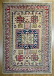 Sale 8653C - Lot 24 - Afghan Super Kazak 200cm x 146cm